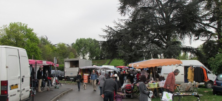 Brocante du quartier Triage
