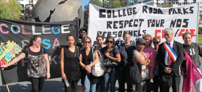 Gentilly : le SOS des CUI du collège Rosa Parks