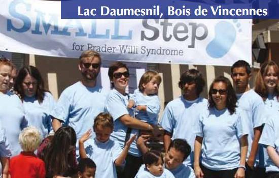 Bois de Vincennes: Marchathon contre le syndrome de Prader-Willi