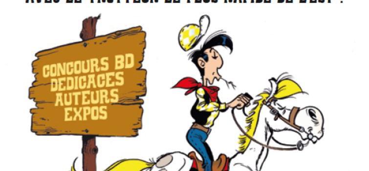 Lucky Luke à l'hippodrome de Vincennes