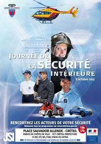 Journée de la sécurité intérieure à Créteil