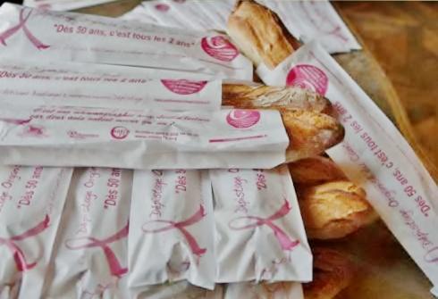 Octobre rose : suivez la baguette en Val de Marne…
