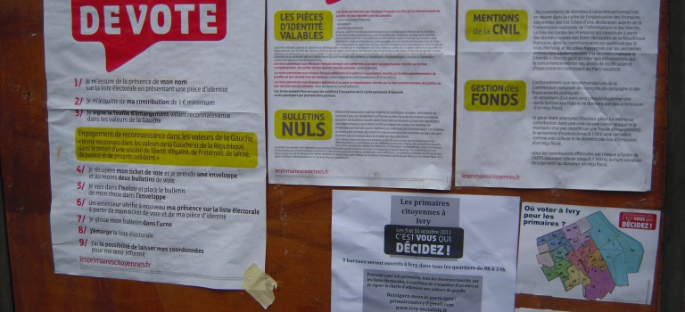 Primaires PS dans le Val de Marne : les résultats