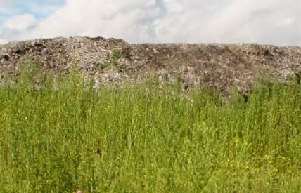 Montagne de déchets à Limeil : début de l'évacuation