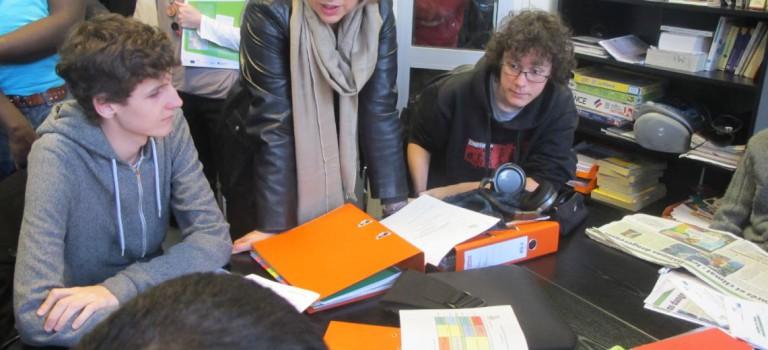 Marie-Anne Montchamp, secrétaire d'Etat aux solidarités auprès de Roselyne Bachelot