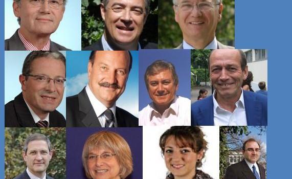 Candidats UMP dans le Val de Marne aux législatives 2012