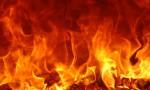 Sauvetage à l'échelle lors d'un incendie à Nogent-sur-Marne