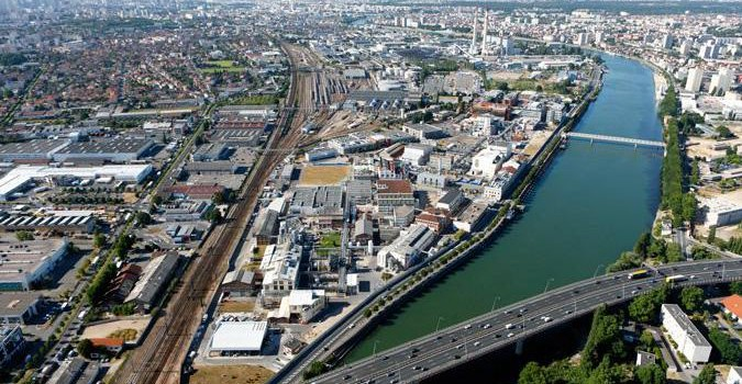 CDT des Grandes Ardoines : changement de Seine
