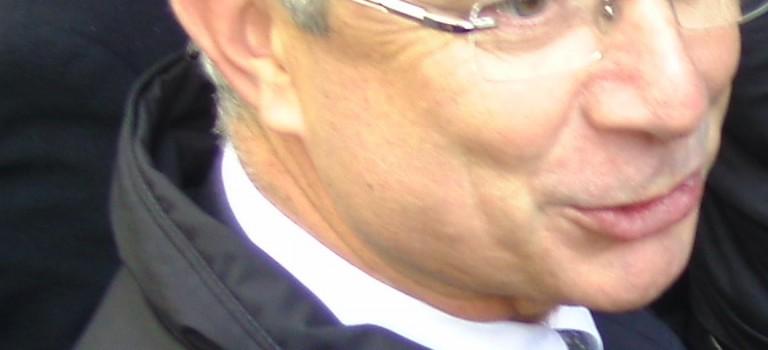 Claude Bartolone lance la campagne des régionales à Créteil