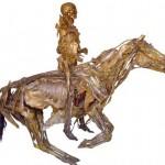 Ecorches Cavalier de l'Anatomiste Honoré Fragonard