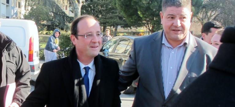 Bonneuil : François Hollande au pied des cités