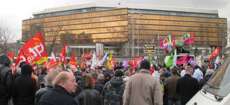 Manifestation à Créteil: le ras le bol général
