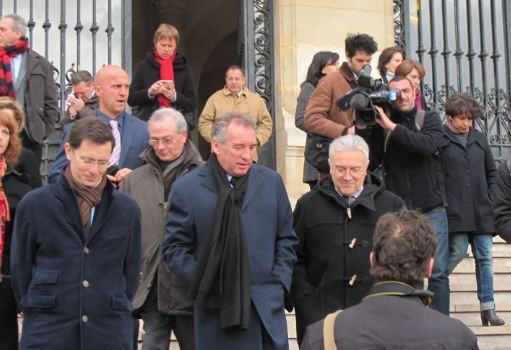 François Bayrou vient parler sécurité à Vincennes