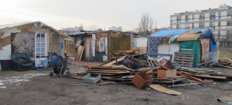 L'évacuation des Roms est en cours