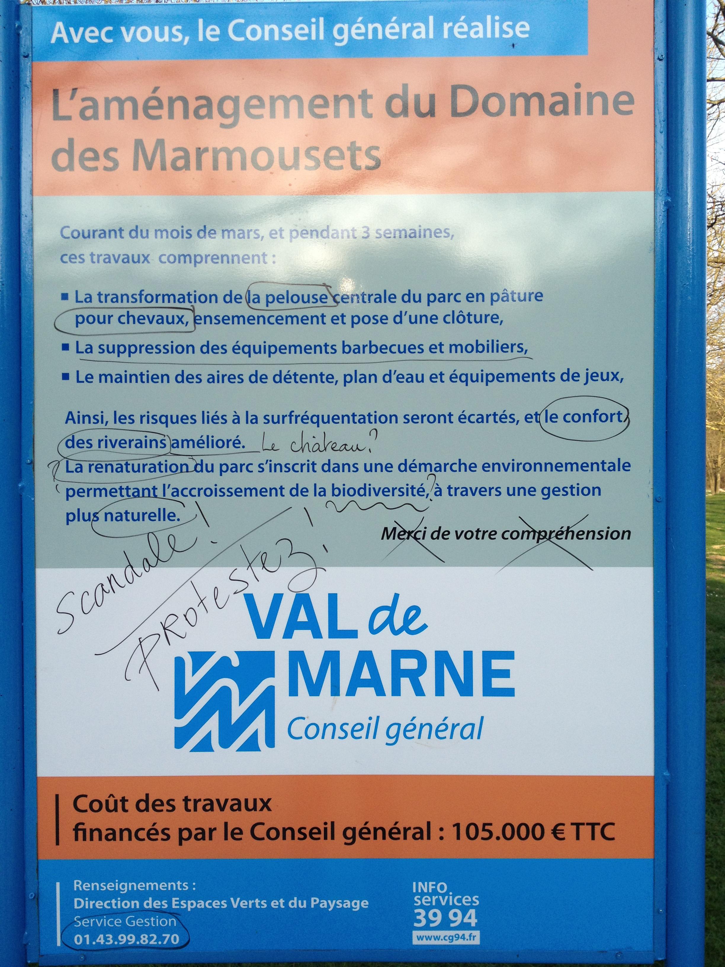 La Suppression Des Barbecues Du Parc Des Marmousets Chauffe