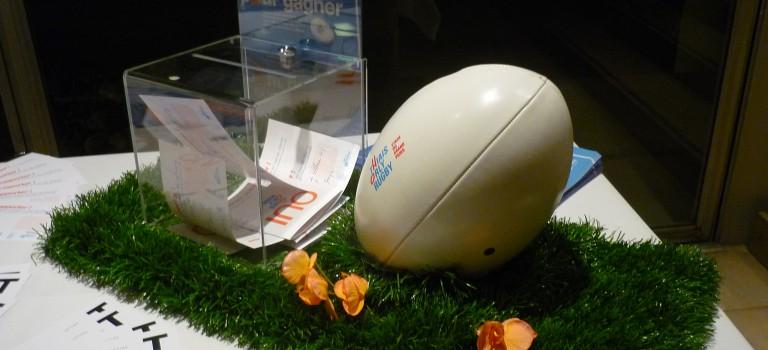 Grand stade de rugby: opération séduction auprès des sportifs