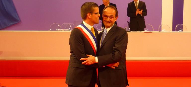 Election de Luc Carvounas à la mairie d'Alfortville