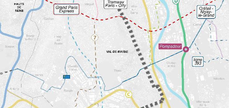 Tramway Paris Orly : objectif 2020