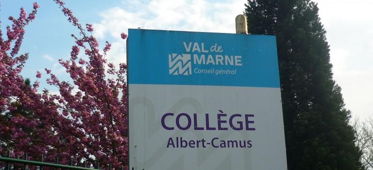 Grève des surveillants au collège Camus du Plessis-Trévise