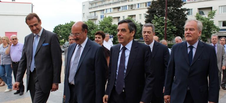 François Fillon vient soutenir Jacques-Alain Bénisti