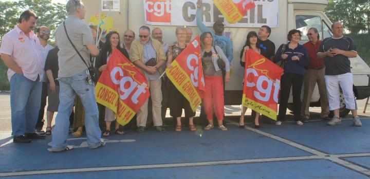 La CGT va manifester devant la mairie de Créteil contre la loi Travail