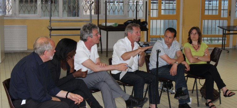 José Bové vient encourager les candidats écologistes