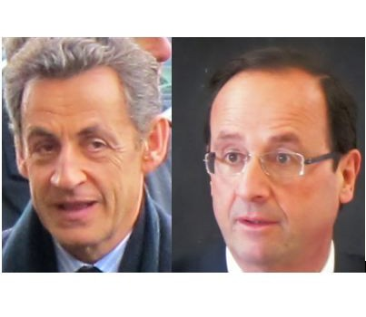 Cinq circonscriptions UMP placent Hollande en tête