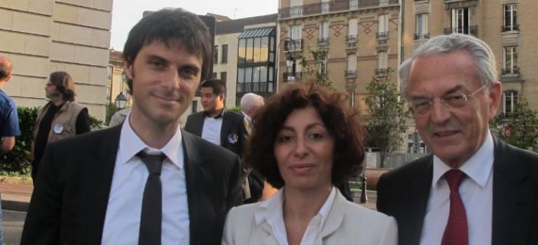 Pascale Luciani soutenue par Jean Arthuis et le Parti radical 94