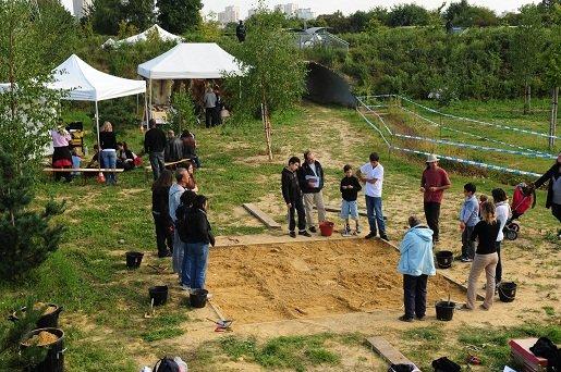 Découverte d'un site archéologique à Villejuif