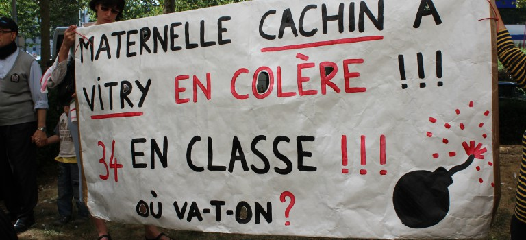 Mobilisation au RDV à l'annonce de la carte scolaire définitive