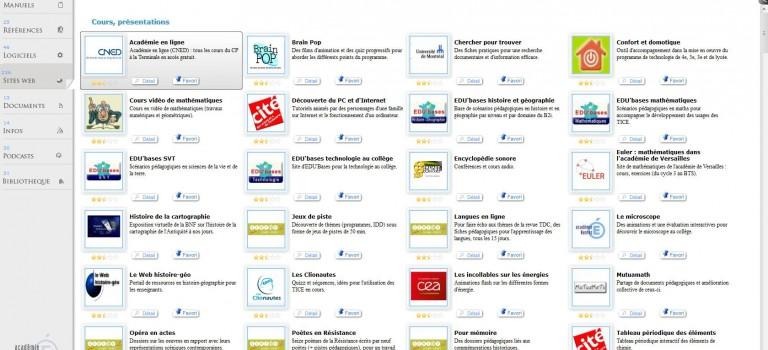 Mamédiathèque : 500 sites pédagogiques en un clic!