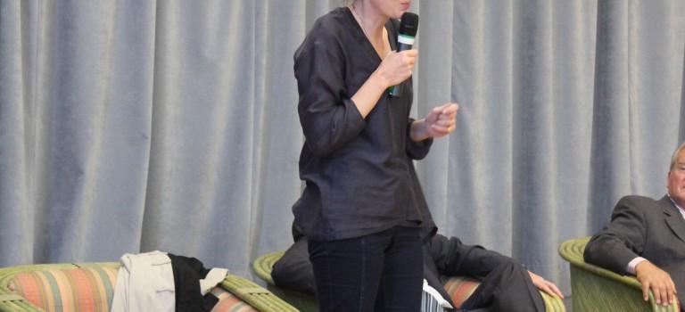 Nathalie Kosciucko-Morizet conquiert les militants du Val de Marne