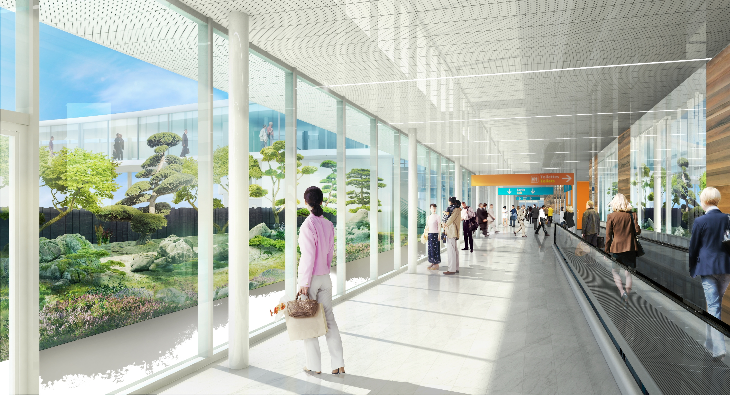 Future salle embarquement international Aeroport Orly 3