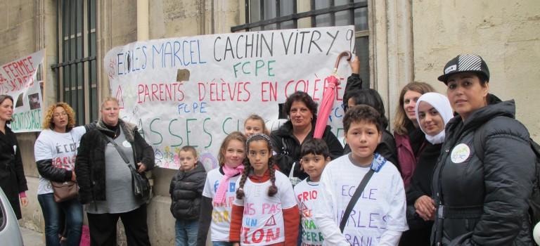 Les parents occupent l'école Marcel Cachin