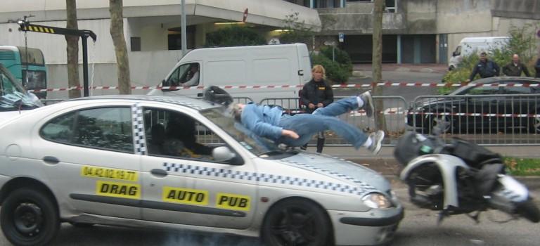 Crash test piéton à Créteil