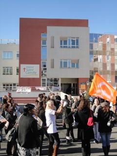 Fin de la grève à l'hôpital Saint Camille