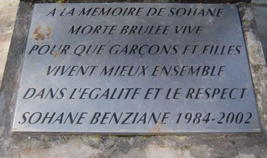 Dix ans après : cérémonie hommage à Sohane Benziane