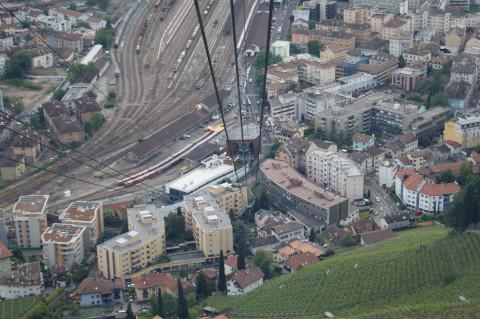 Le Val de Marne en Italie pour étudier un téléphérique urbain