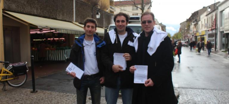 La campagne des législatives repart à zéro à Saint Maur