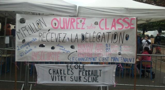 Ecole Charles Perrault : reprise de l'occupation à la rentrée