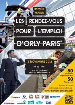1ère édition des Rendez-vous pour l'emploi d'Orly-Paris