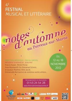 Derniers jours pour le Festival Notes d'Automne