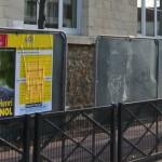 Marche Adamville Campagne Legislative Partielle Samedi 1 decembre 2012 Panneaux Affichage