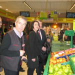 Ministre Sylvia Pinel - Auchan - Okabé