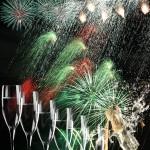 Champagner Partyfeuerwerk