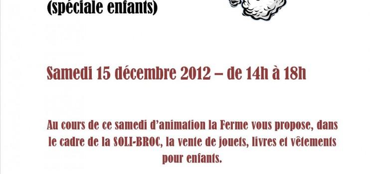 Villeneuve-le-Roi : braderie de Noël spéciale enfants