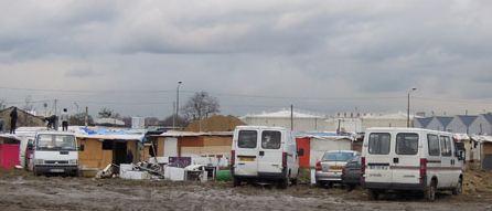Evacuation du bidonville de la Carelle