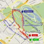 Foulees Charenton Parcours du 15km
