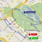 Foulees Charenton Parcours du 5km