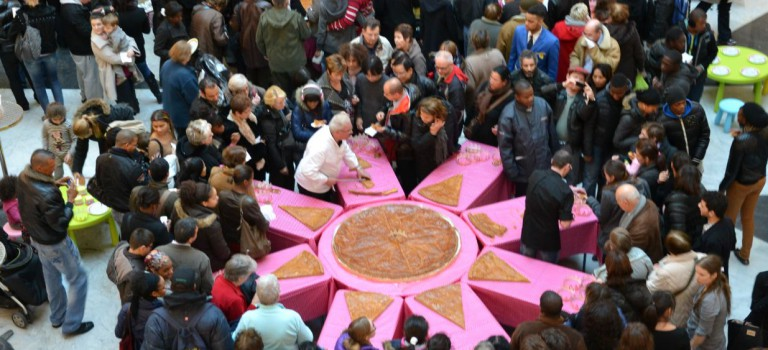 Créteil Soleil fête les rois avec une galette géante